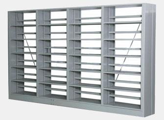 钢制书架(每列4组)
